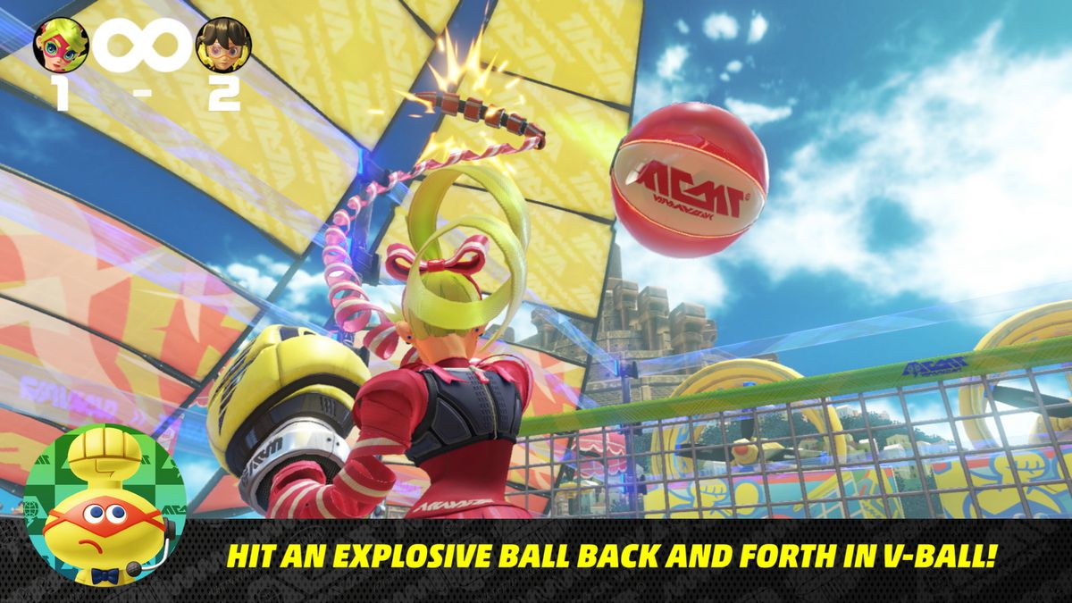 Nintendo Direct 5/17/17 - Arms V-Ball