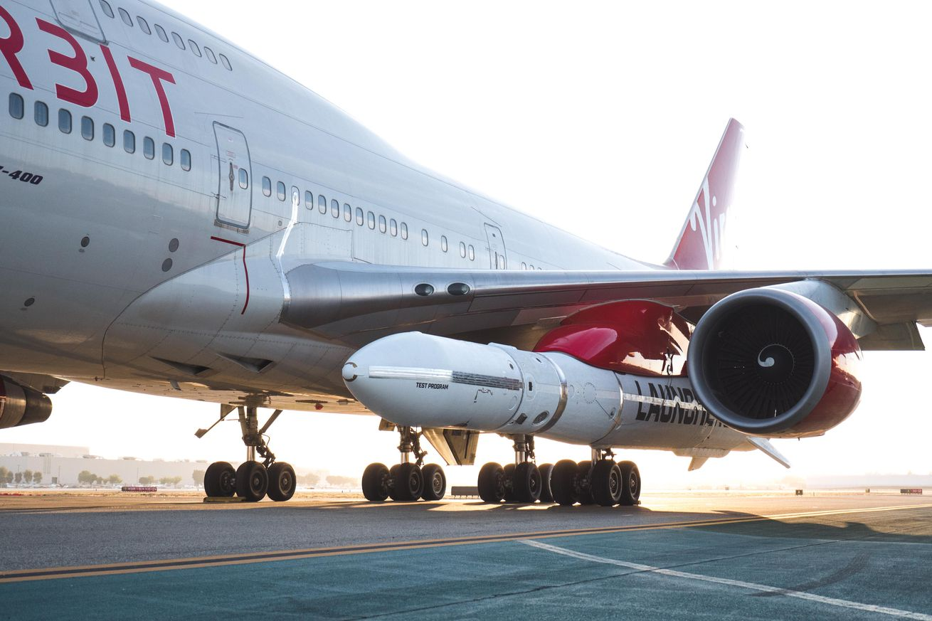 virgin orbit moves closer to launching a rocket to space from a 747