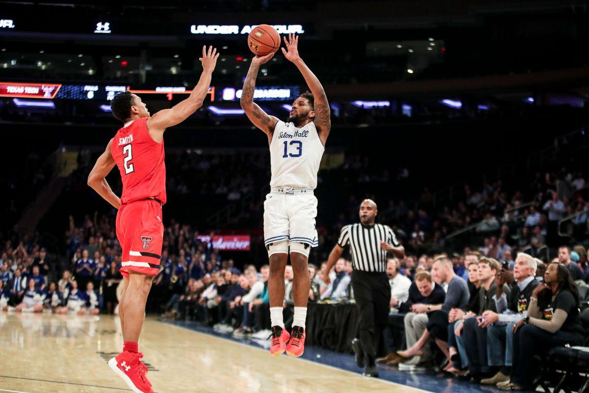 NCAA Basketball: Under Armour Reunion Seton Hall vs Texas Tech