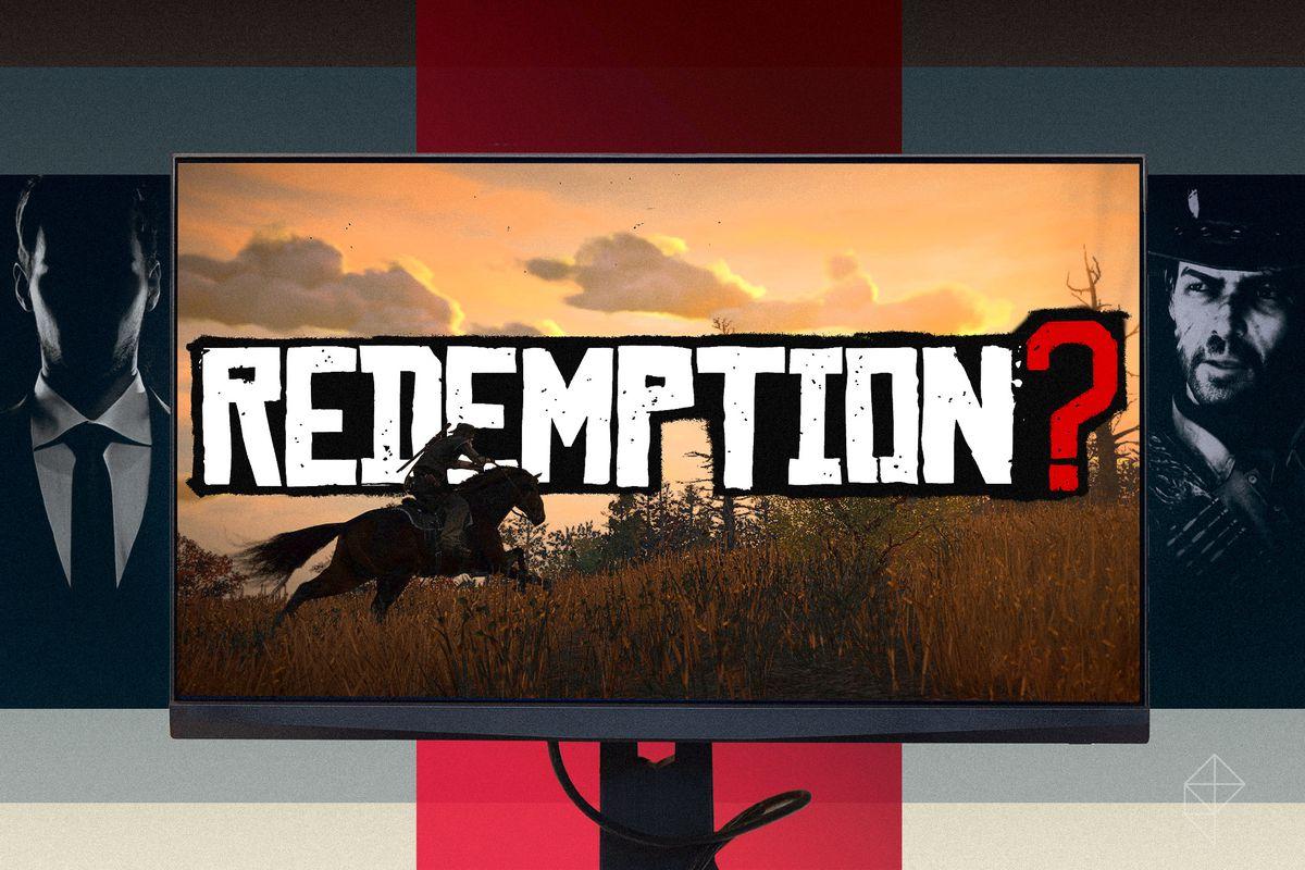Rockstar Agent/'Redemption?' artwork