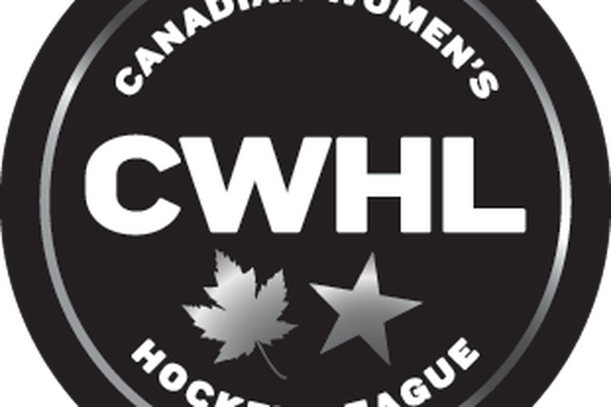 Canadian Women's Hockey League round logo