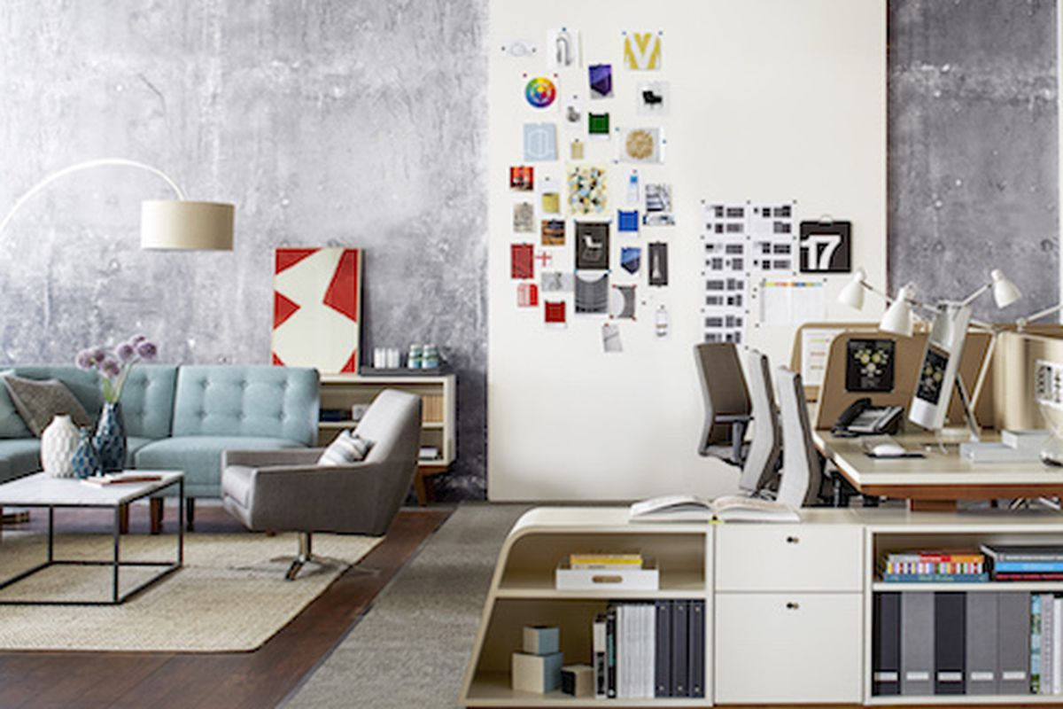 west elm office furniture. photo courtesy west elm office furniture