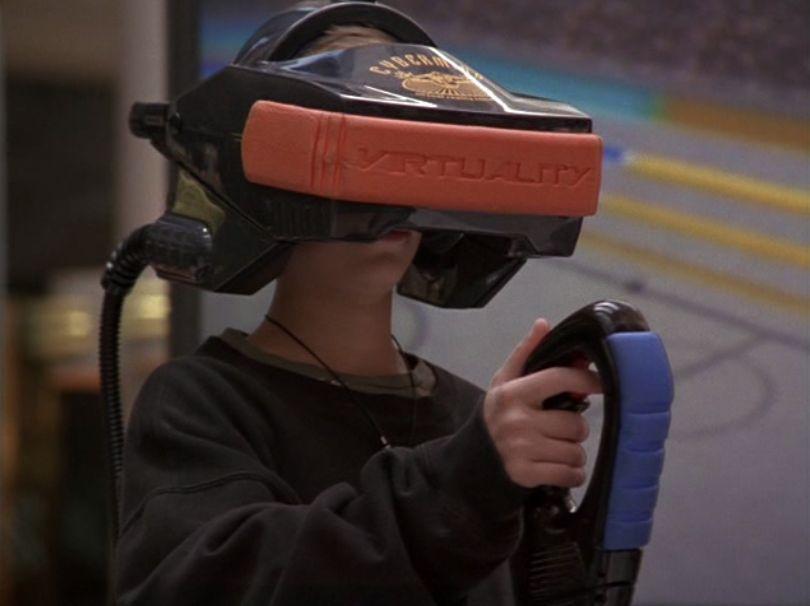 VR first kid