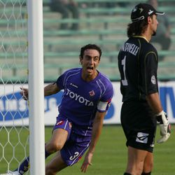 You can't get enough of this guy celebrating goals in Viola can you?