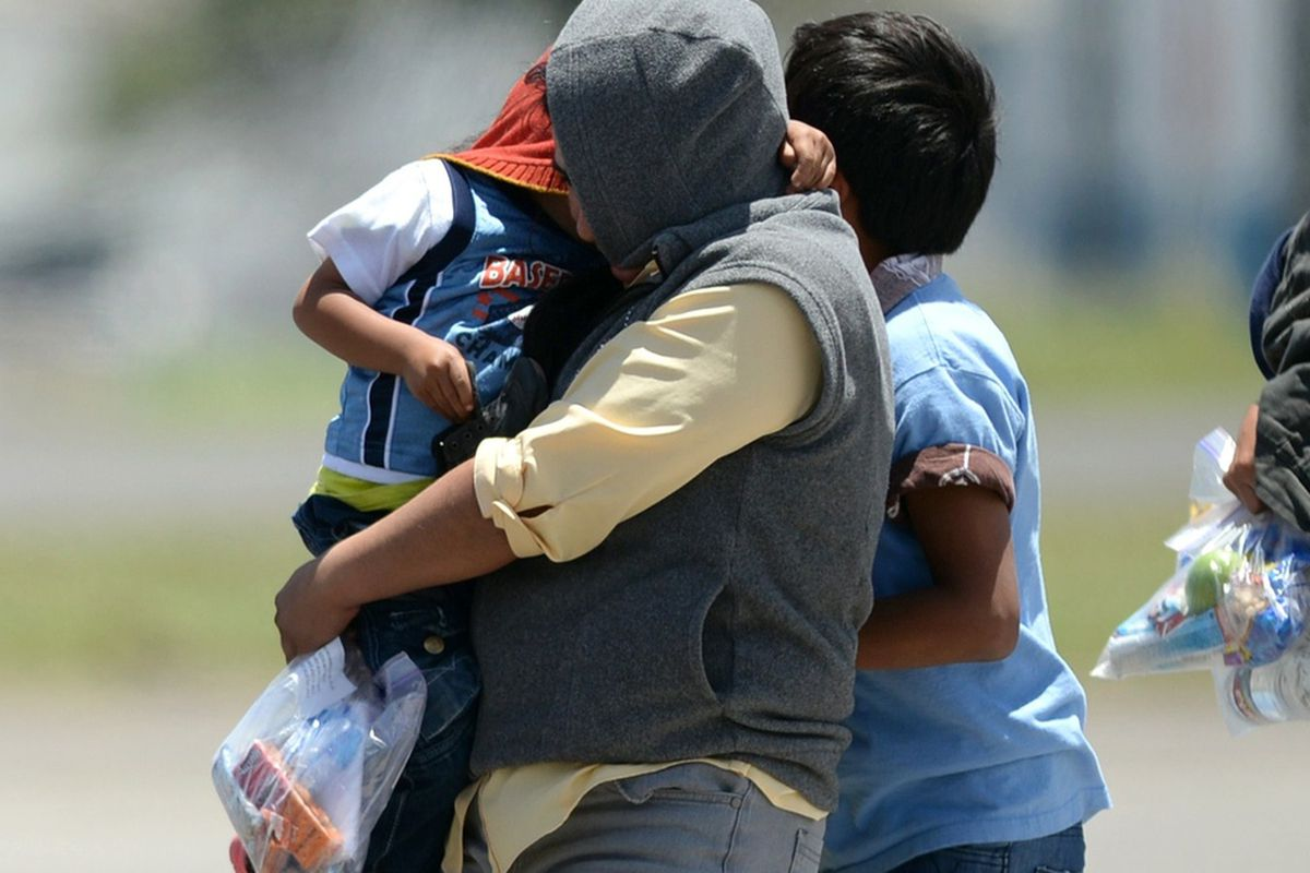 Families deported back to Guatemala this summer.