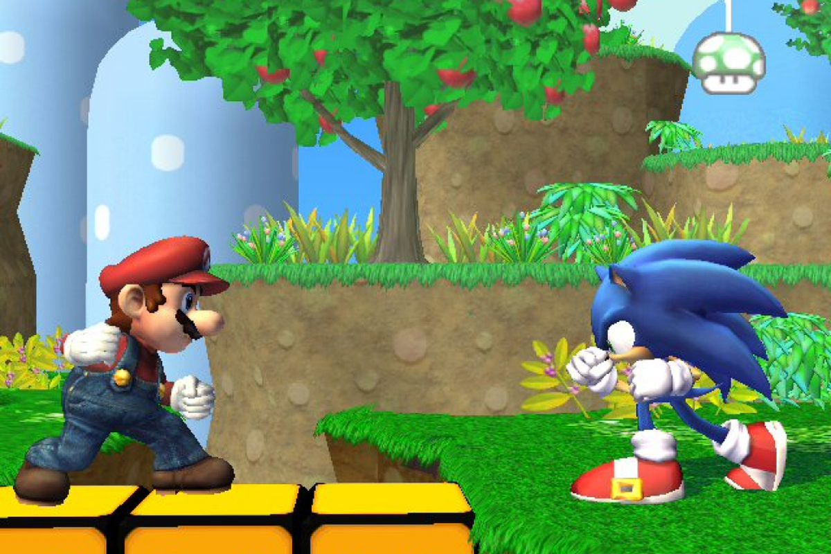 when sonic joined super smash bros brawl the internet exploded