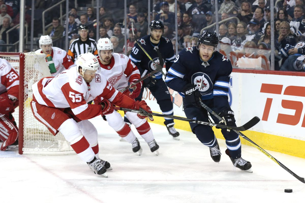 preview winnipeg jets vs detroit red wings arctic ice. Black Bedroom Furniture Sets. Home Design Ideas