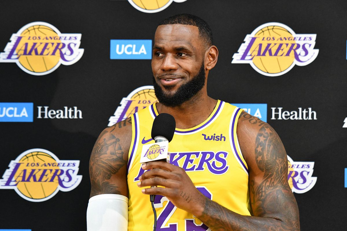 58a6c37ad LeBron James and Moe Wagner explain why it feels special to play for the  Lakers