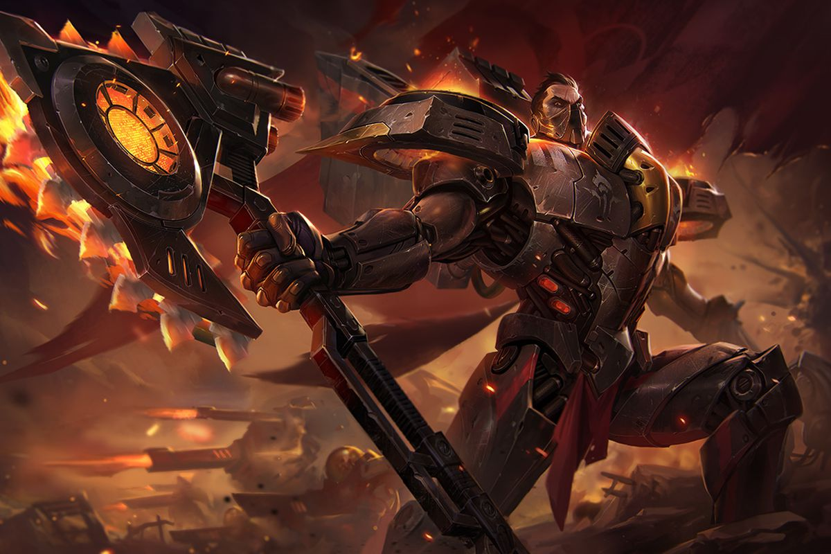 The new Dreadnova Darius skin is a spicy space dream - The ...