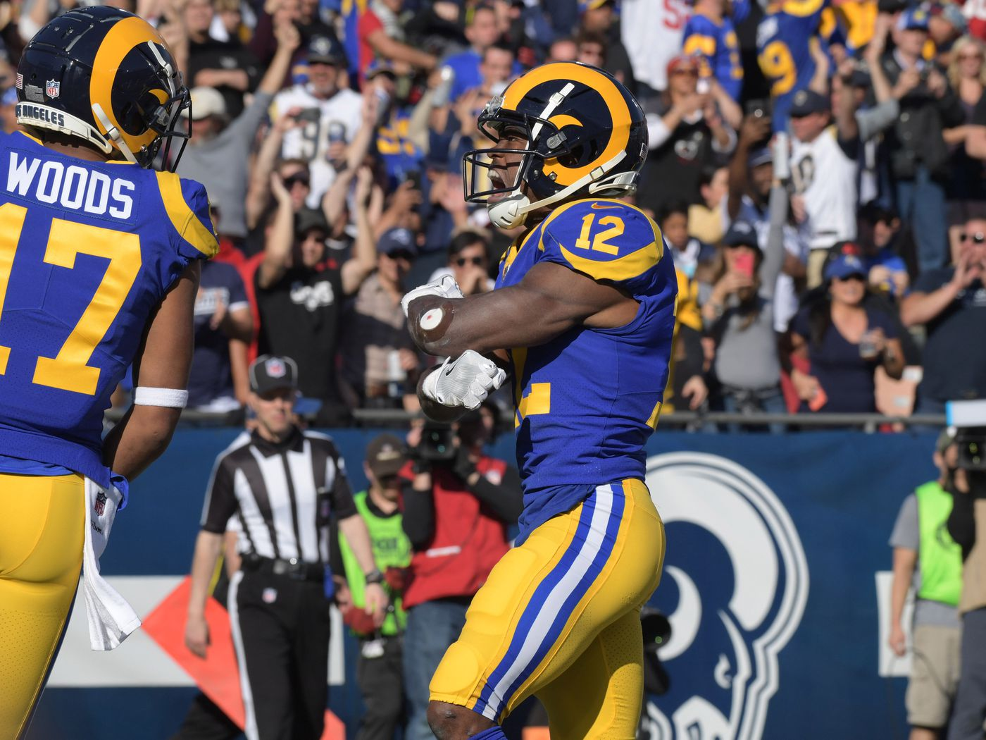 uk availability bf9d4 eb824 2019 Rams roster preview: WR Brandin Cooks 'em. - Turf Show ...