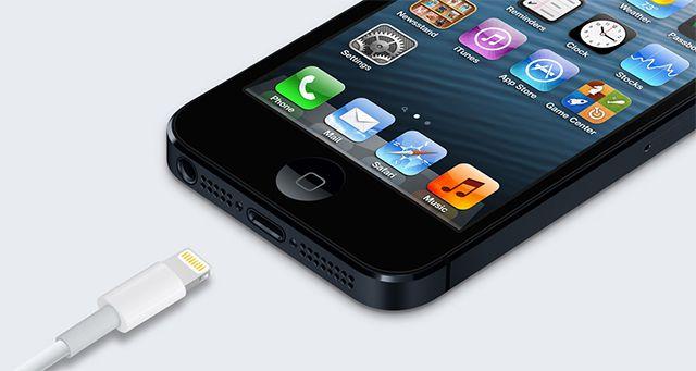 Apple Lightning connector stock