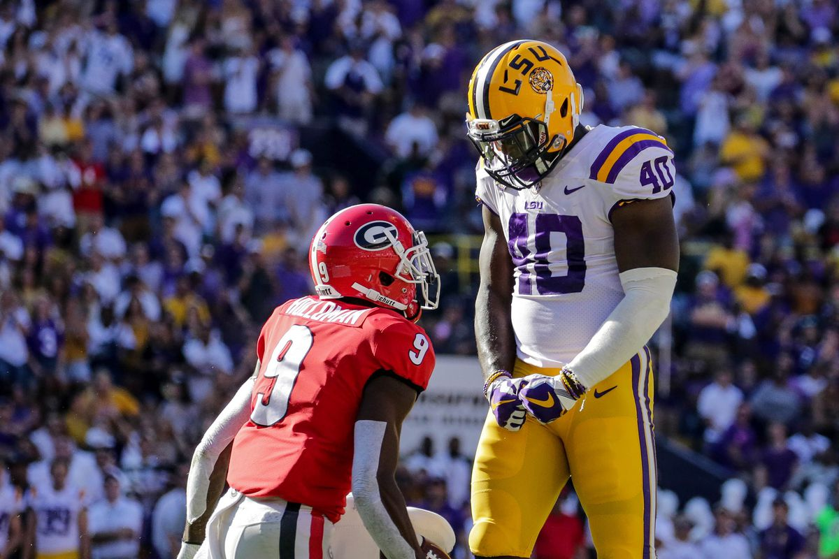 Lsu Lb And Possible Bengals Target Devin White Declares For The Nfl