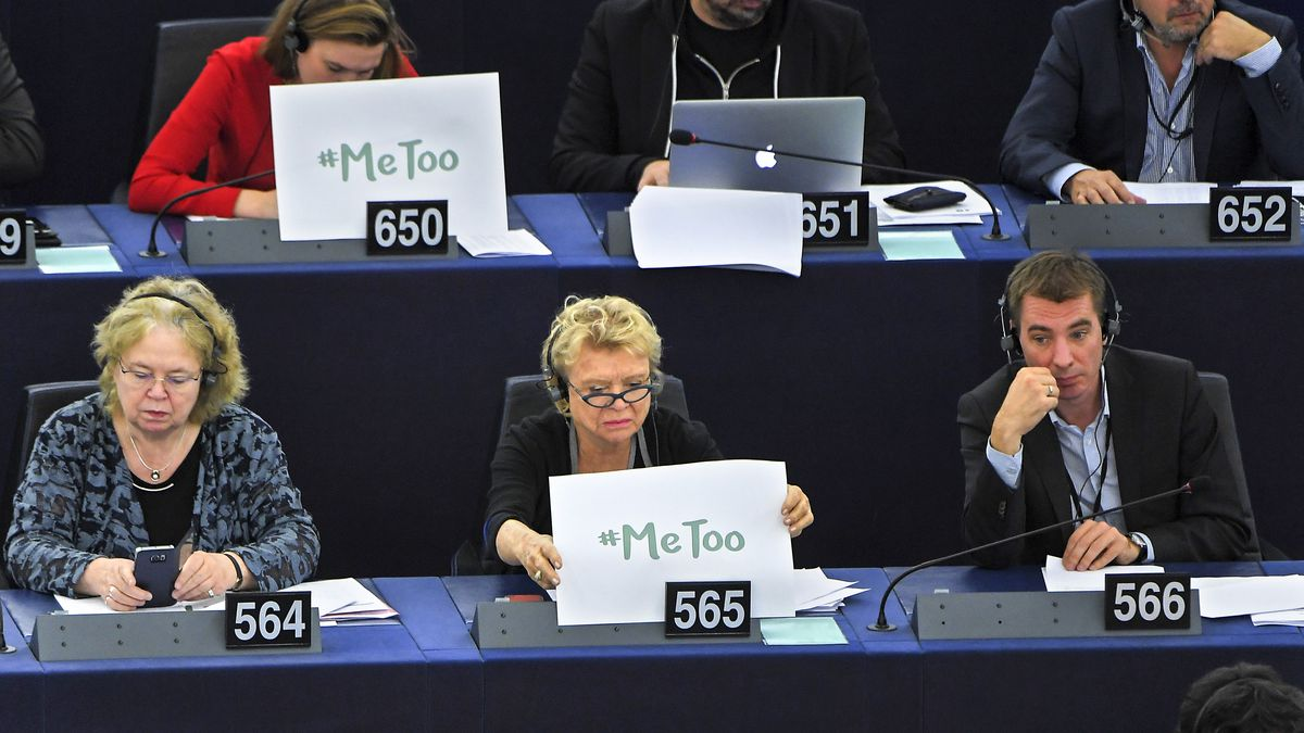 MeToo is making the European Parliament take sexual harassment