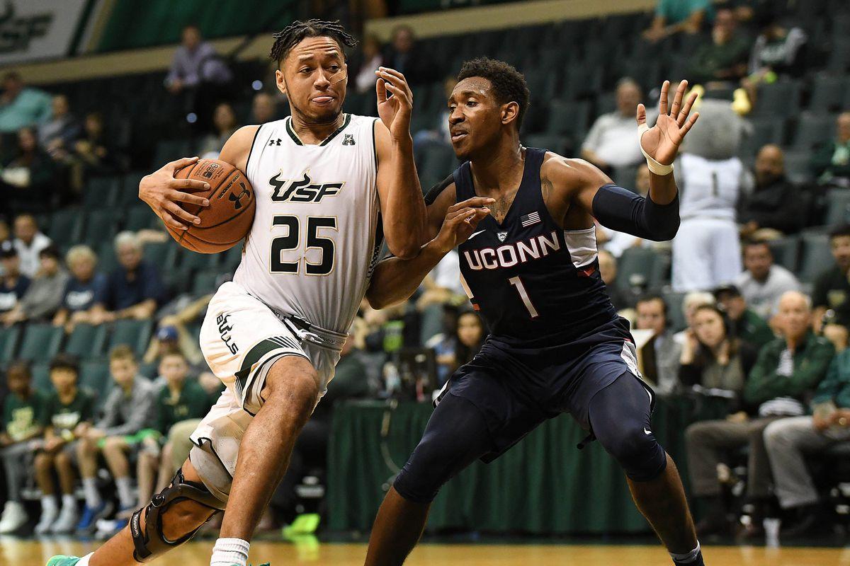 NCAA Basketball: Connecticut at South Florida
