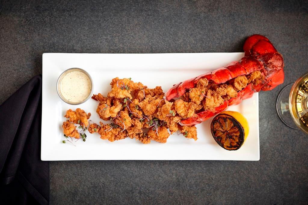 III Forks' chicken fried lobster