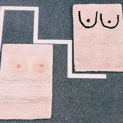 Cold Picnic Private Parts rug collection, not yet available