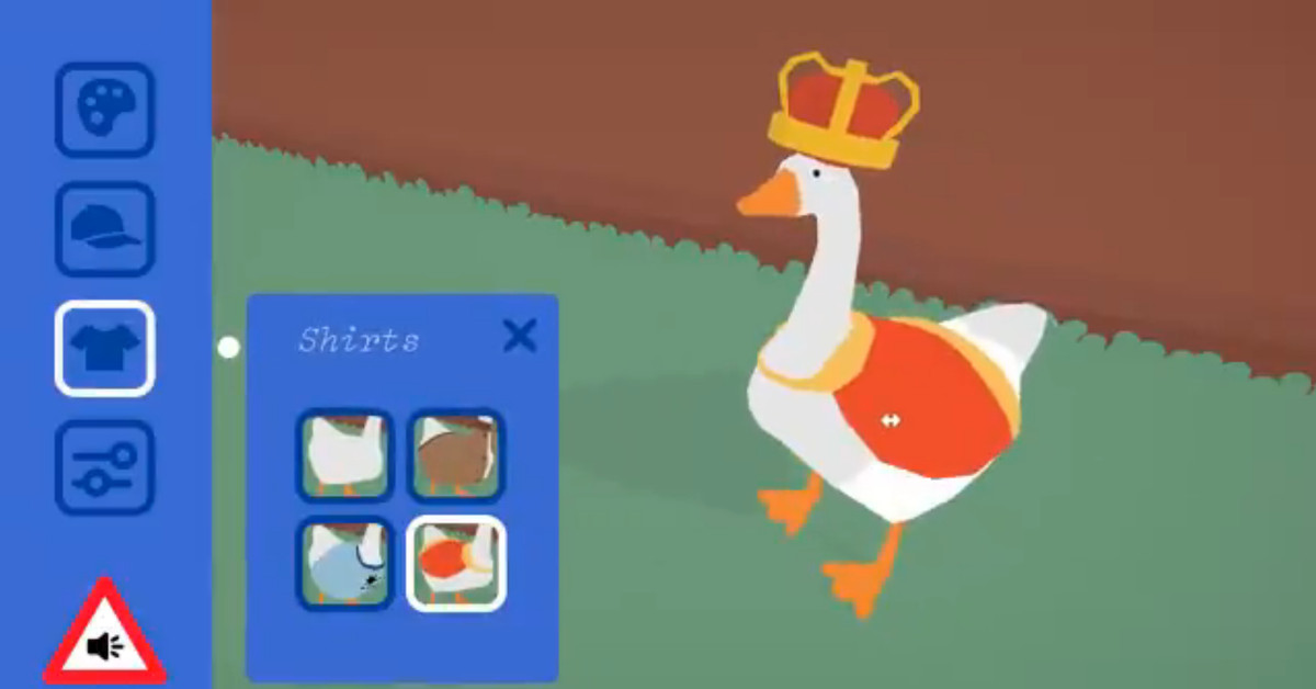This Untitled Goose Game goose maker shows us what could have been