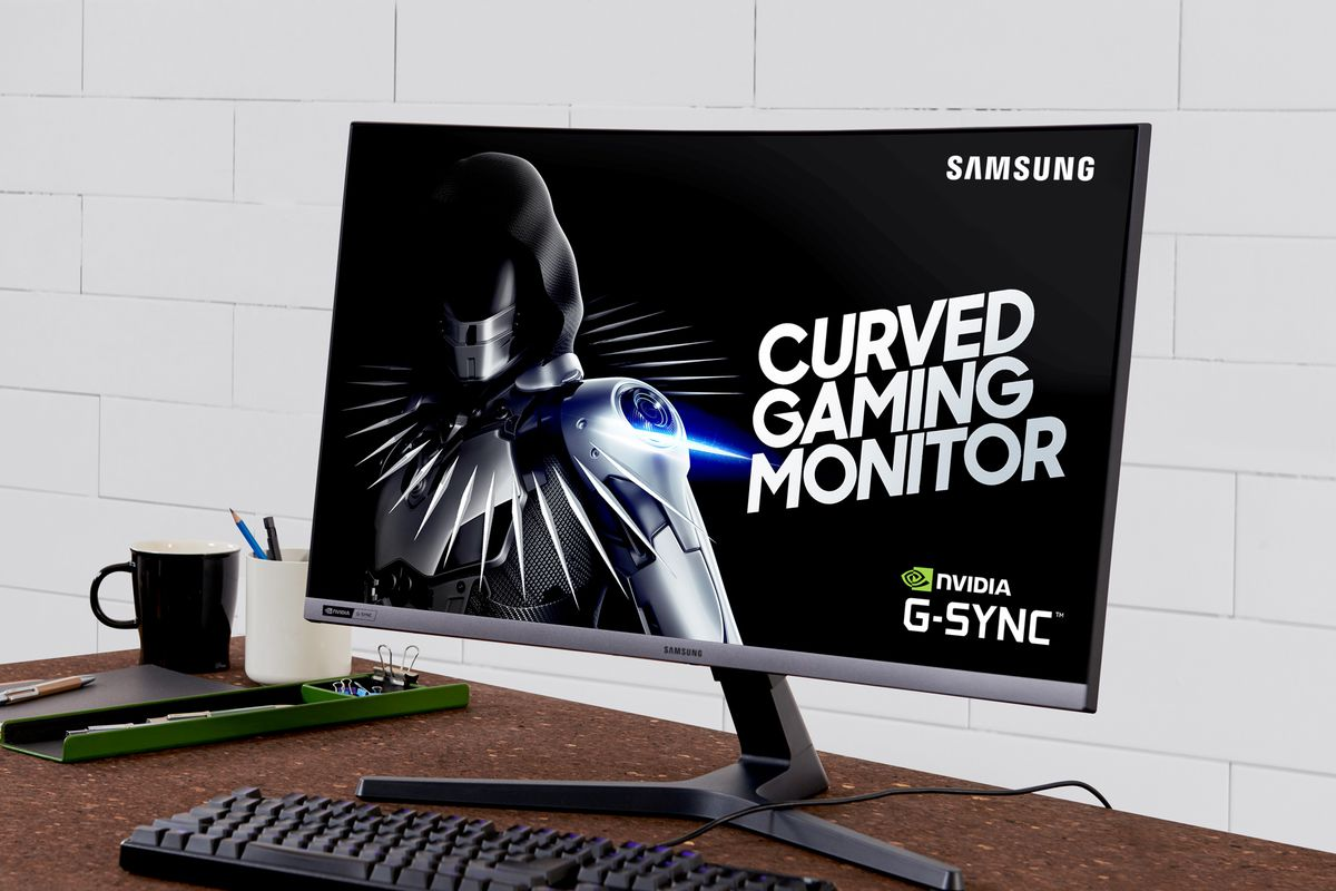 Samsung's CRG5 is a curved, G-Sync compatible, 1080p gaming monitor