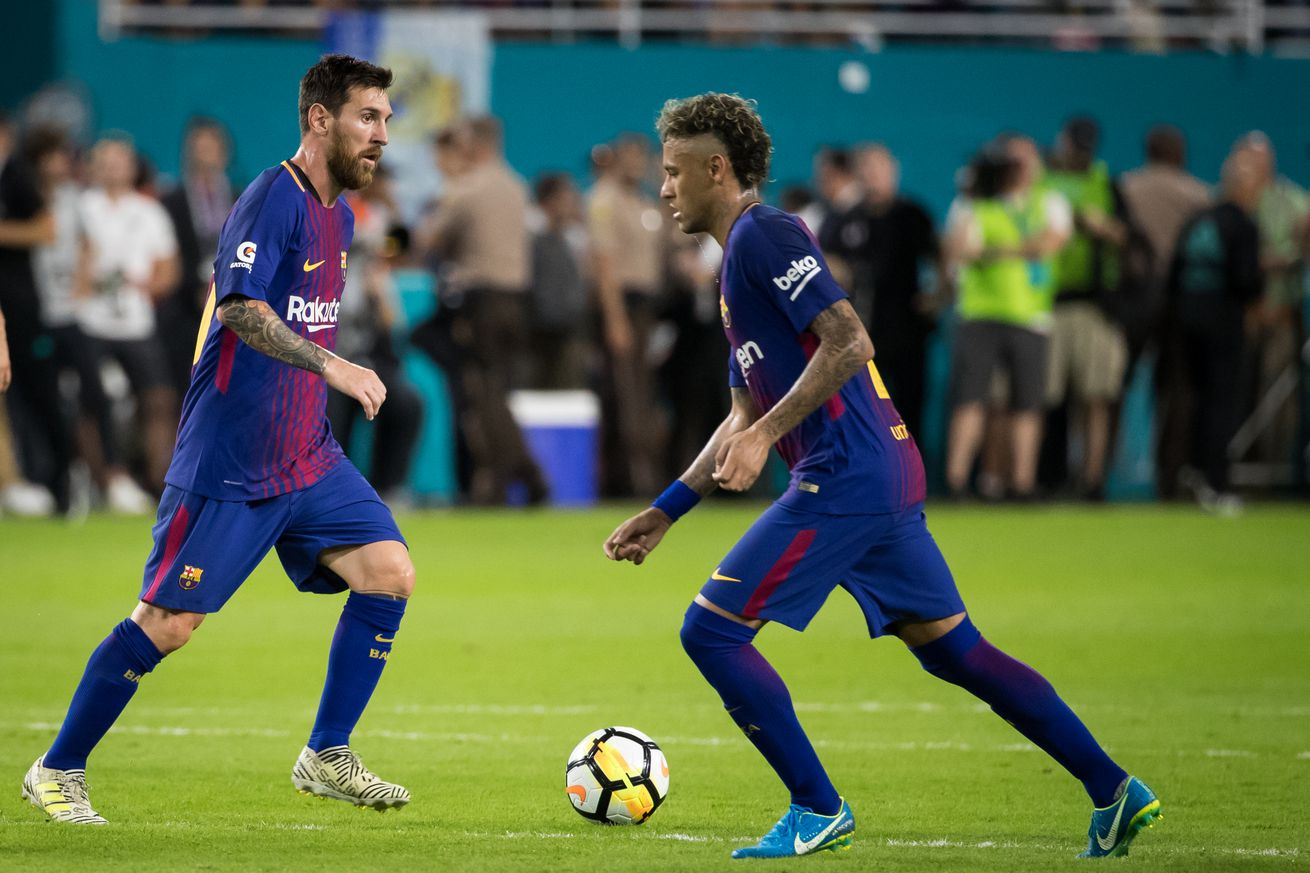 Messi thought Neymar would go to Real Madrid if he didn?t rejoin Barca