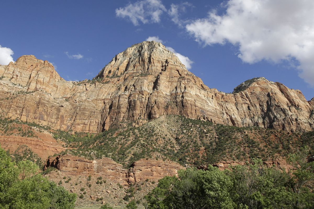 Zion National Park is pictured on Sept. 16, 2015.