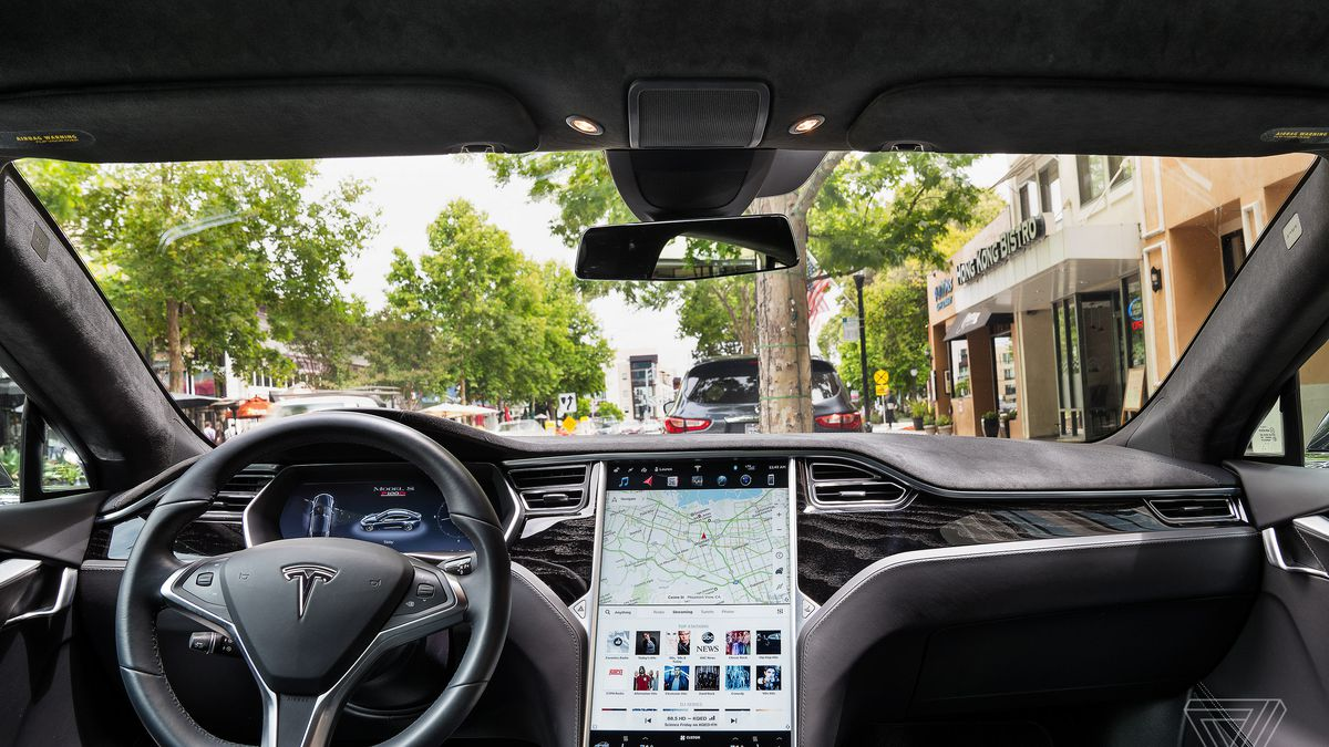 Screendrive Tesla Model S Is The Epitome Of A Tablet On