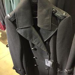 Wool coat, $370 (was $740)