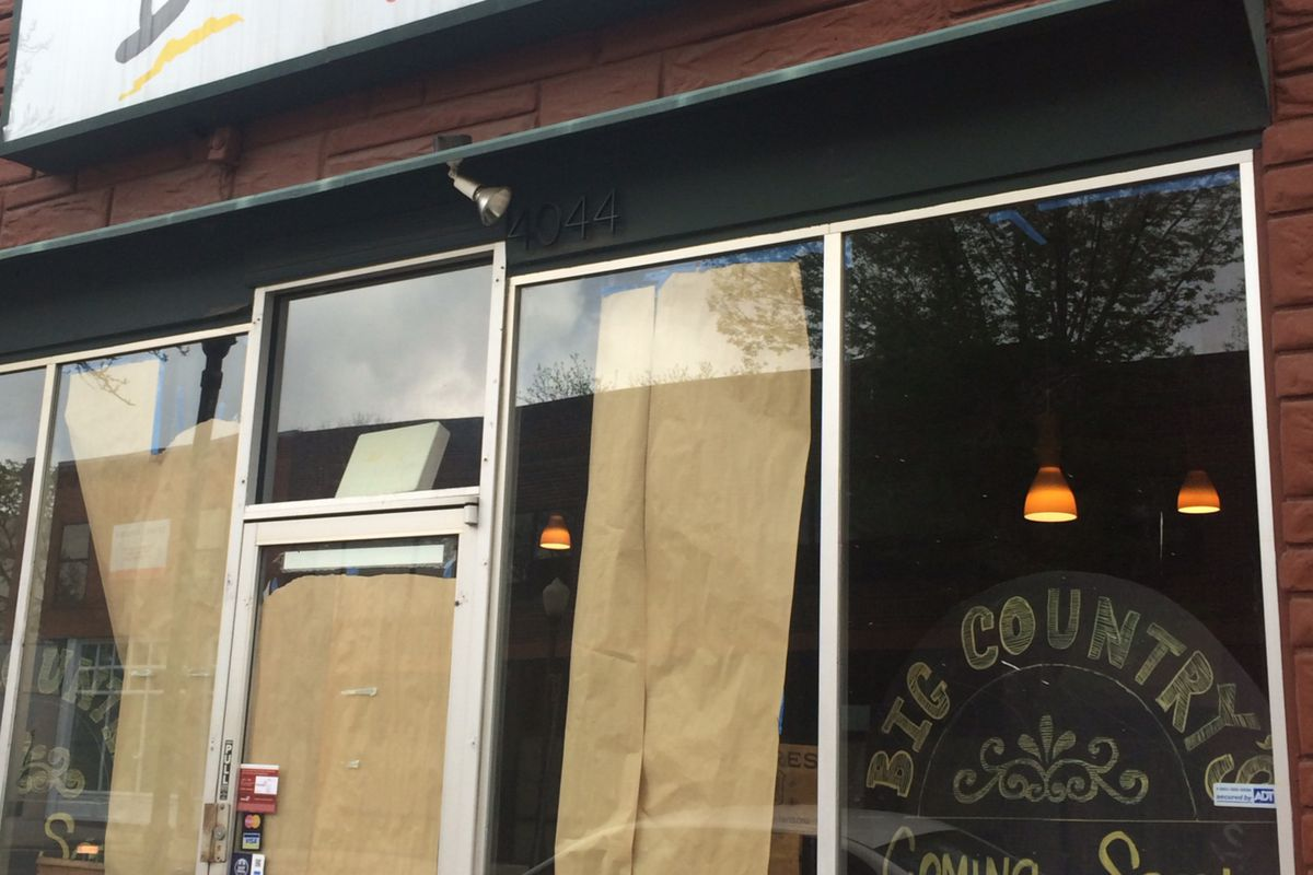 Big Country's slated to open in early May.