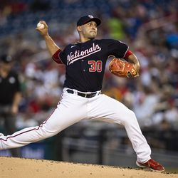 Paolo Espino, Nationals starting pitcher on Tuesday