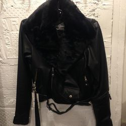The Sway leather jacket, $270 (was $675)