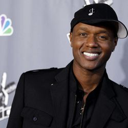 """FILE - In this June 29, 2011 file photo, Javier Colon, winner of the first season of the singing competition series """"The Voice,"""" poses for photographers after the finale in Burbank, Calif. More than a year after his win, Colon is among the rapidly increasing number of reality singing contest winners who didn't go on to fame and fortune. Even as these shows proliferate the number of breakout stars from their ranks has dwindled."""