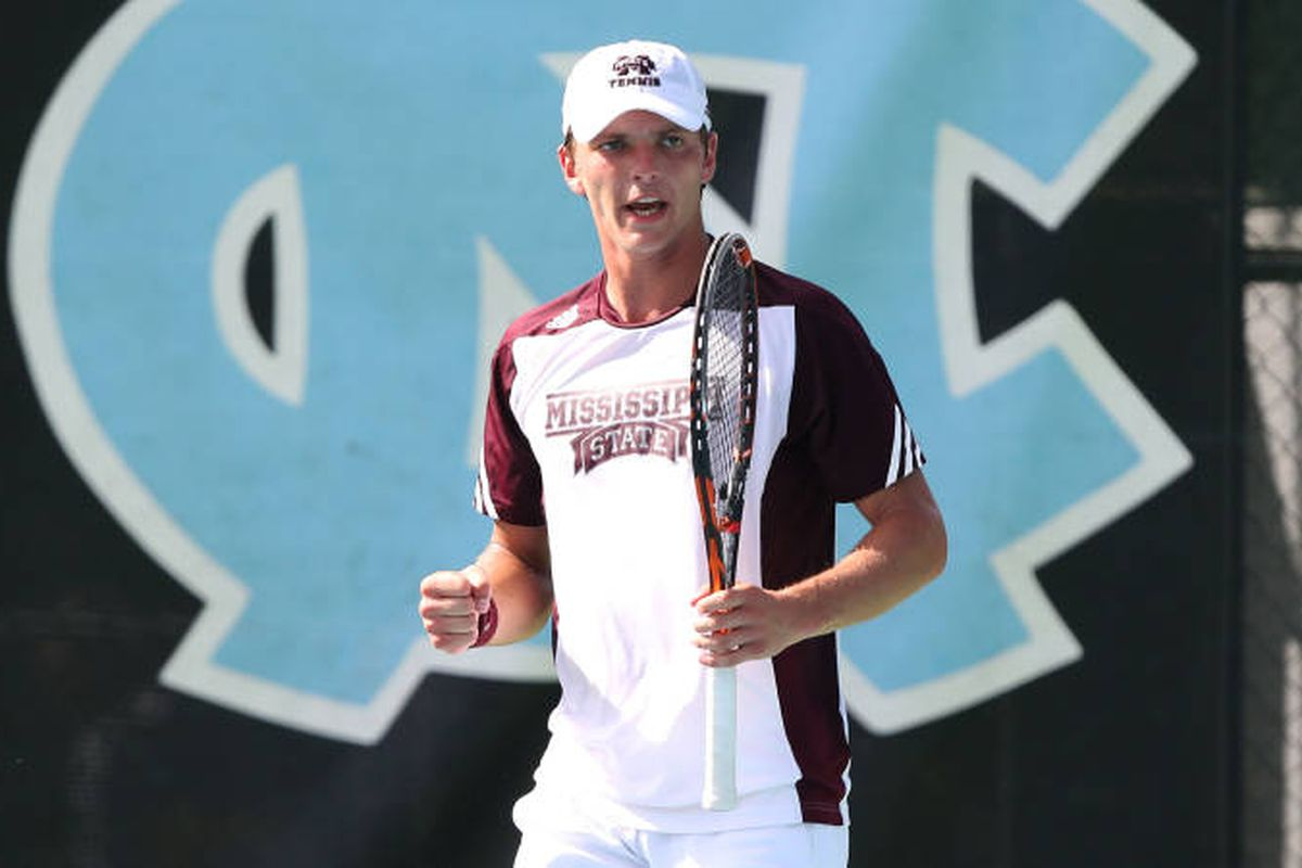Mate Cutura picked up the lone win against North Carolina in the second round of the NCAA Tournament