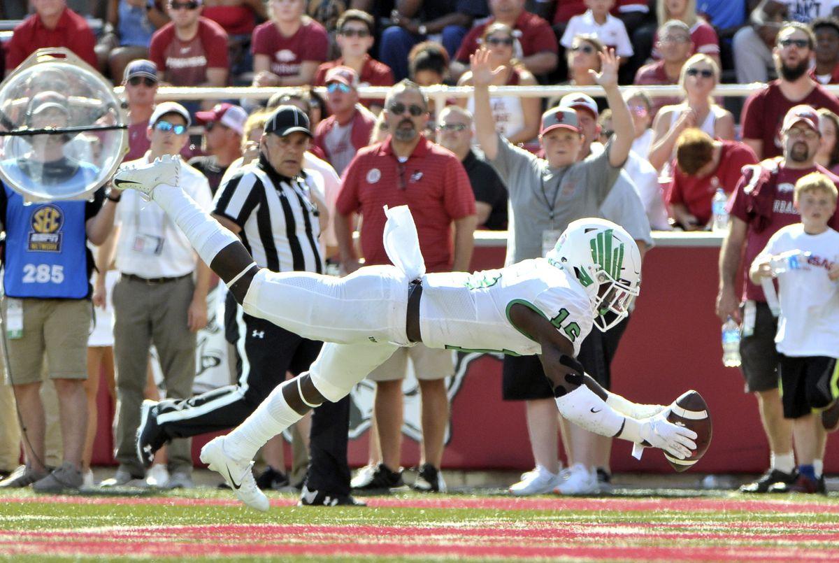 NCAA Football: North Texas at Arkansas