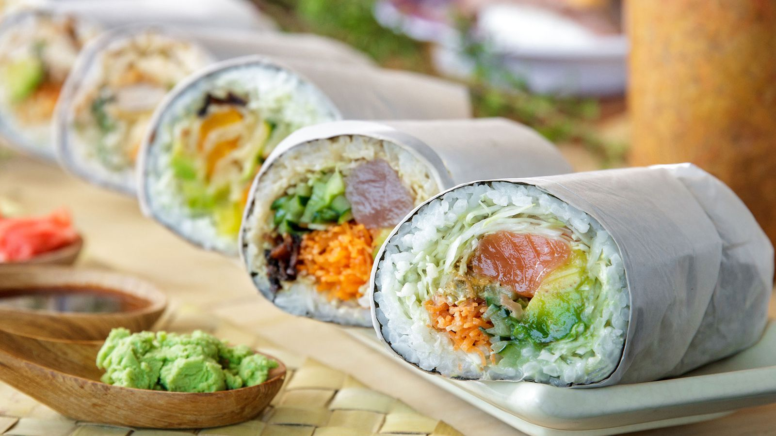 Sushi Burrito Spot U Maki Is Just About Ready To Open