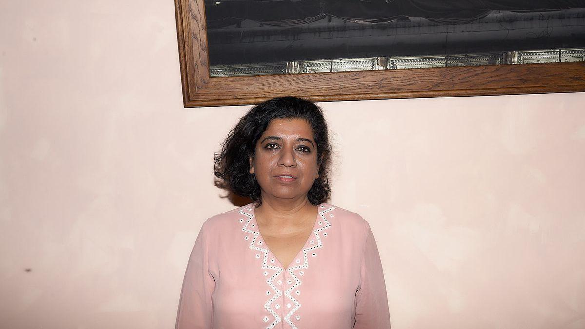 Chef Asma Khan at her new restaurant, Darjeeling Express in Covent Garden
