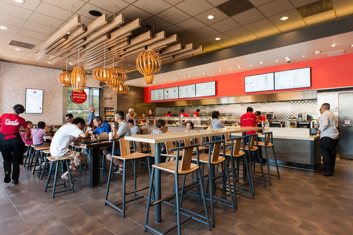 Panda Express Innovation Kitchen, A Swanky New Fast-Casual