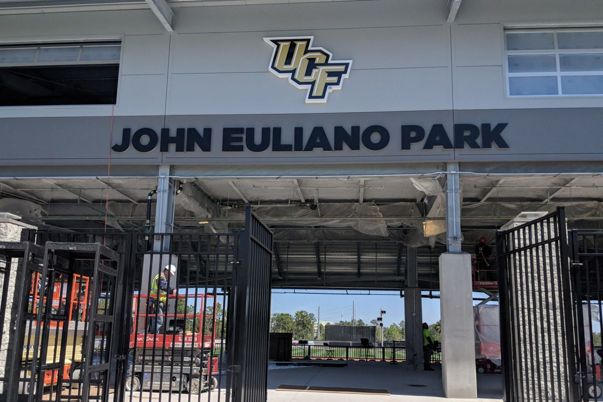 The expansion of John Euliano Park, which includes 300 new seats, will be open to UCF fans beginning Friday night. (Photo: Brian Murphy)