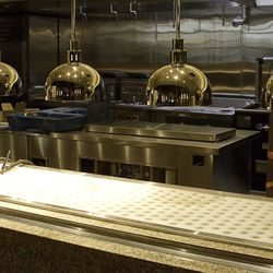 More looks at the kitchen at Bacchanal Buffet.
