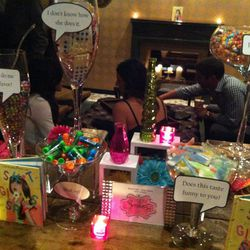 Partygoers could not get enough of the retro-inspired Candee by Sandee candy station