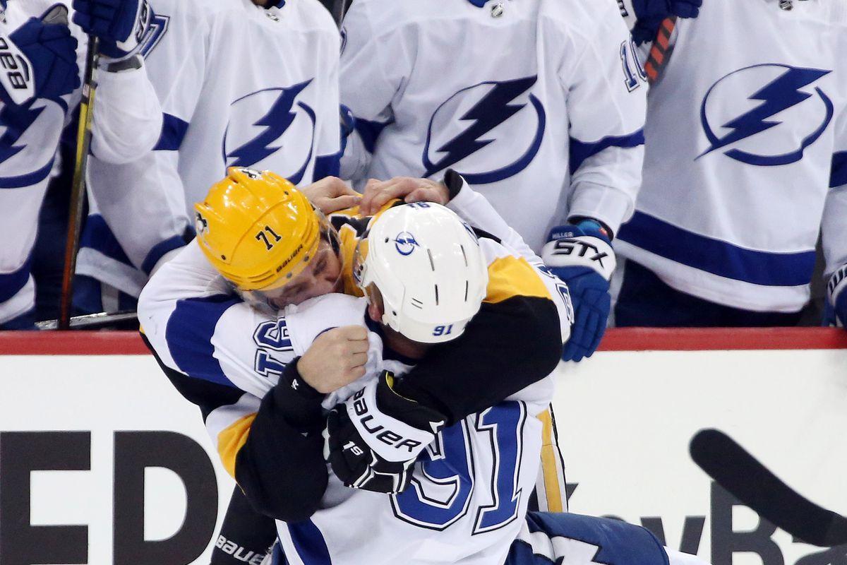 NHL: Tampa Bay Lightning at Pittsburgh Penguins