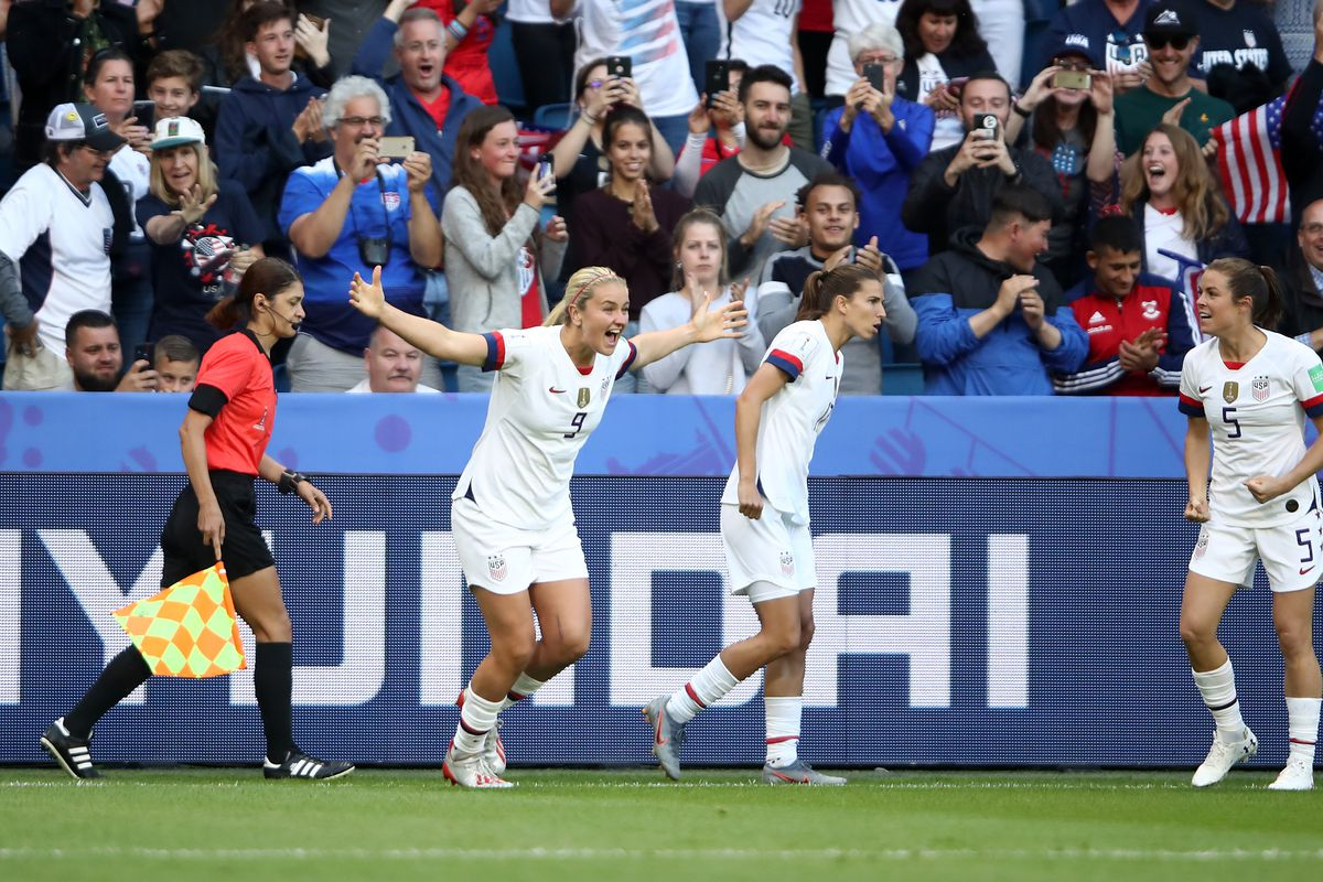 ec127d5a67b 2 suggested changes for USWNT vs. France in the 2019 women's World ...