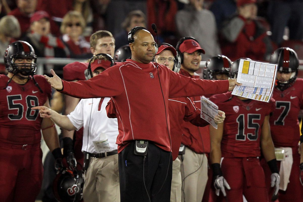 Stanford's David Shaw voted for his own team over Oklahoma State. And why wouldn't he?