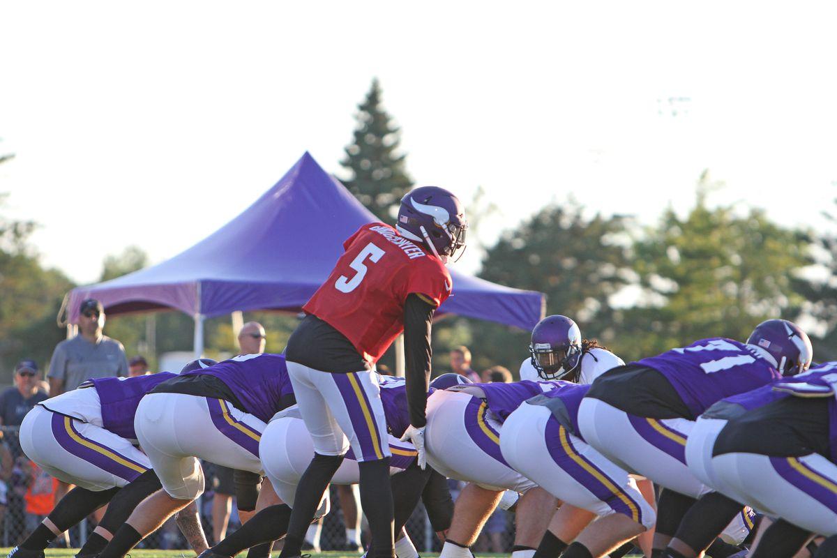 Minnesota Vikings Training Camp Gallery: Night Practice