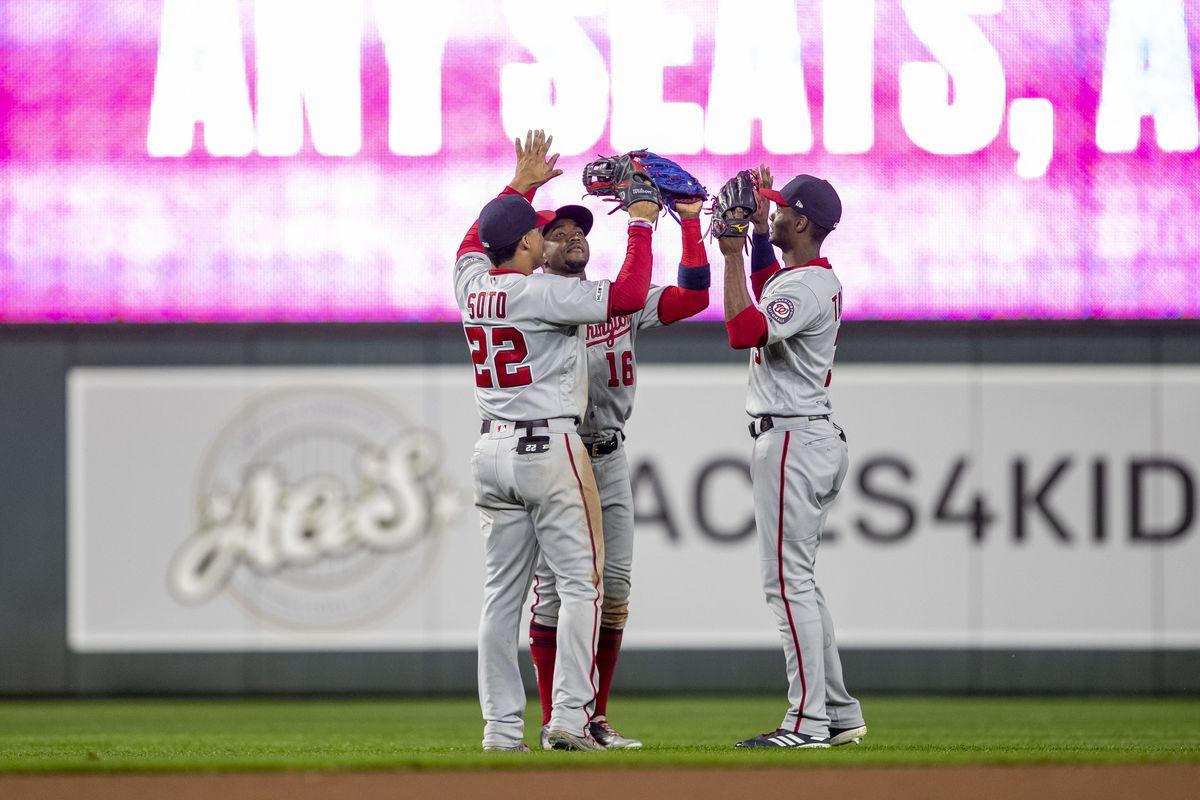 MLB: Washington Nationals at Minnesota Twins