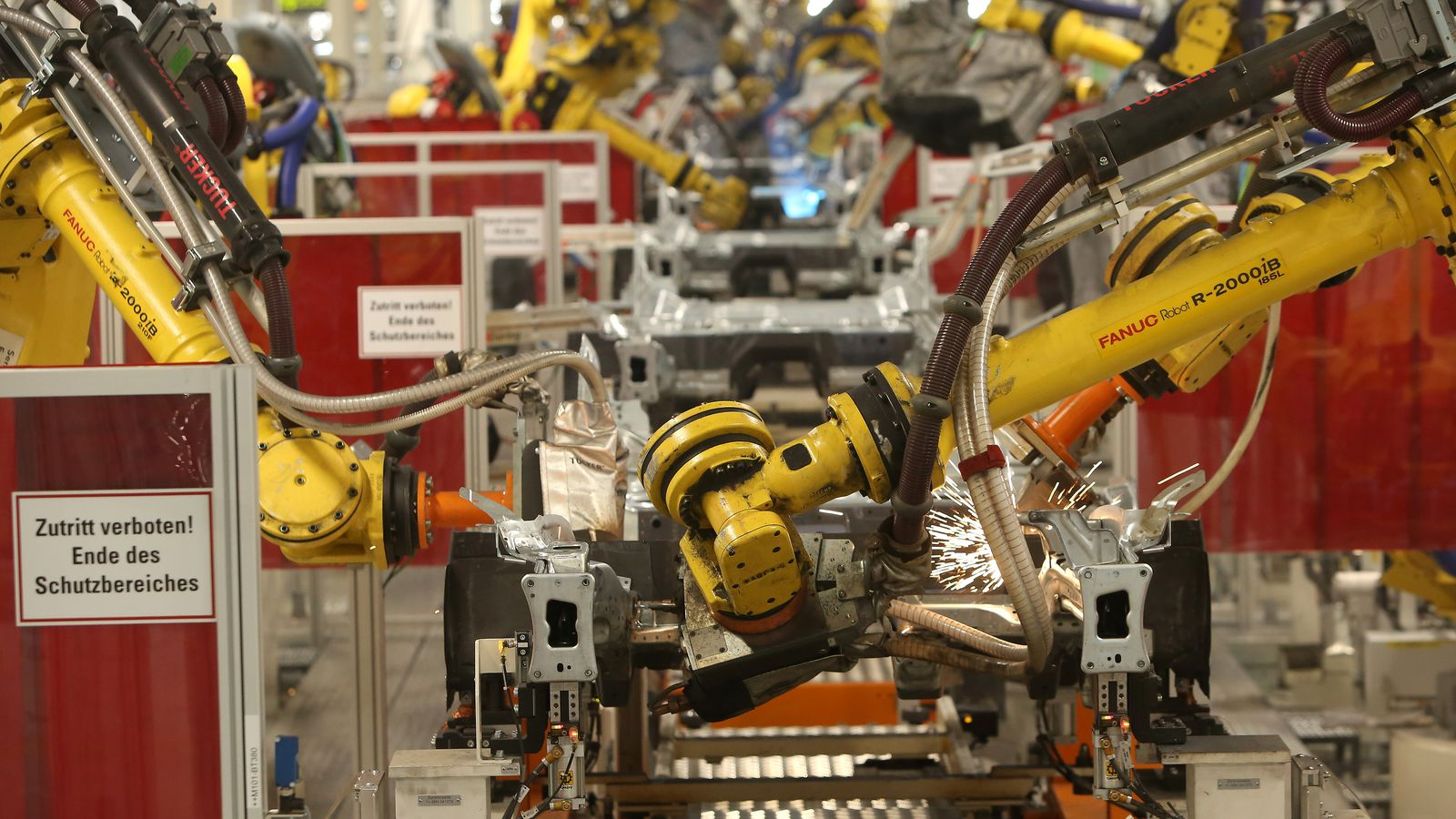 The industrial robotics market will nearly triple in less than 10 years