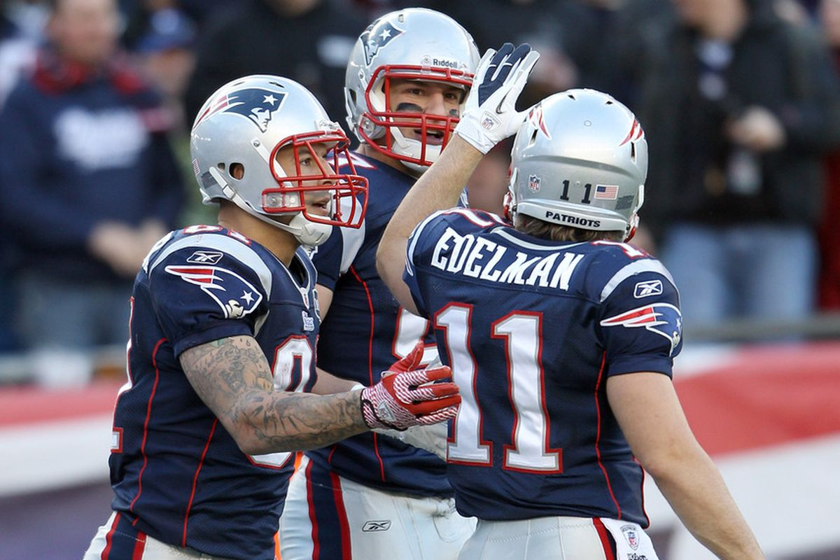 Hernandez, Gronkowski and Edelman may all miss OTAs this year.