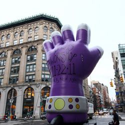 Also, there was a giant fist.