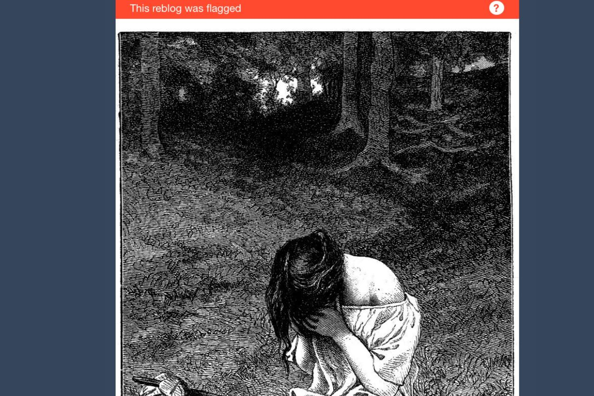 Hot Wife Challenge Tumblr tumblr's wonky algorithm is flagging innocent posts as adult