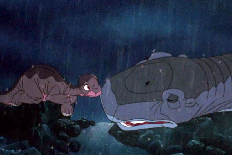 littlefoot and his dead mom