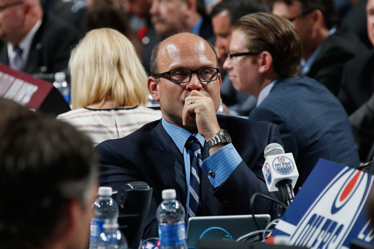 Oilers Front Office - The Copper & Blue