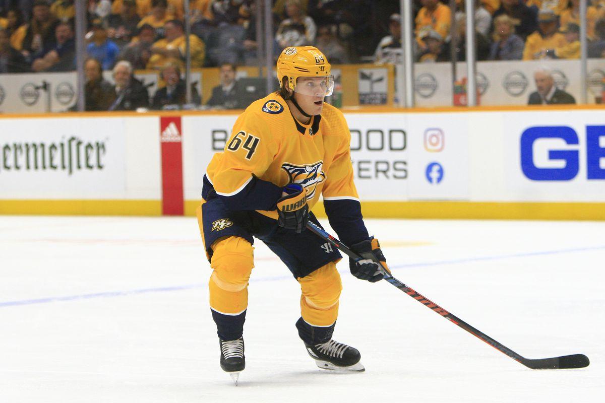 NHL: OCT 22 Ducks at Predators